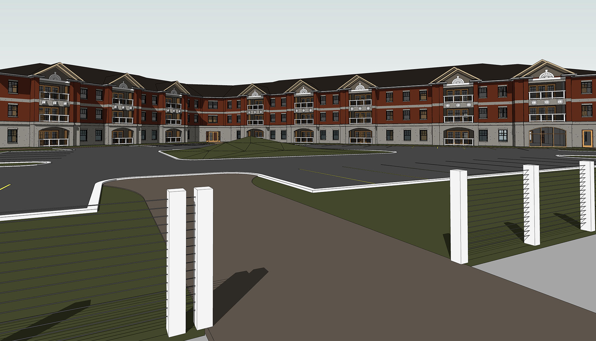 Front-View_3D-BIM-Model_Residential-Project_Architectural-Revit-Modeling-by-United-BIM