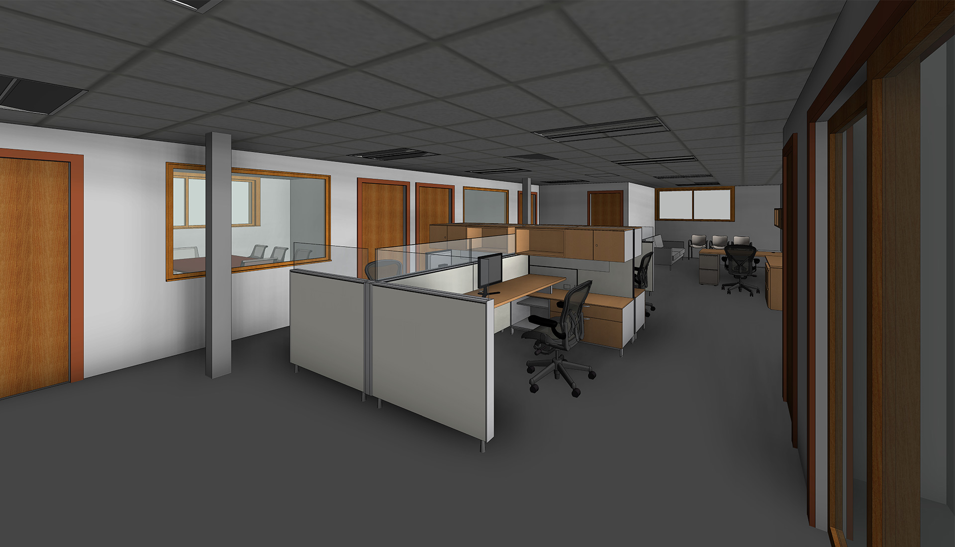Internal-View_3D-Revit-Architectural-Model-with-Custom-Revit-Families_Office-Space_Modeling-by-United-BIM