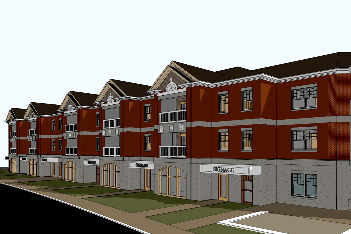 Multi-Family-Residence-Architectural-Modeling-Services-by-United-BIM-