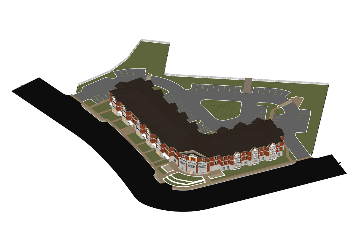 Multi-Family-Residence-Architectural-Modeling-Services-by-United-BIM.