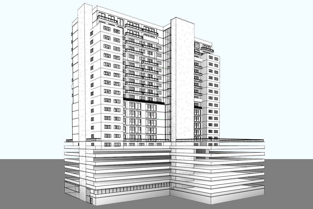 Park-Avenue-Complex-Architectural-Modeling-Services-by-United-BIM.