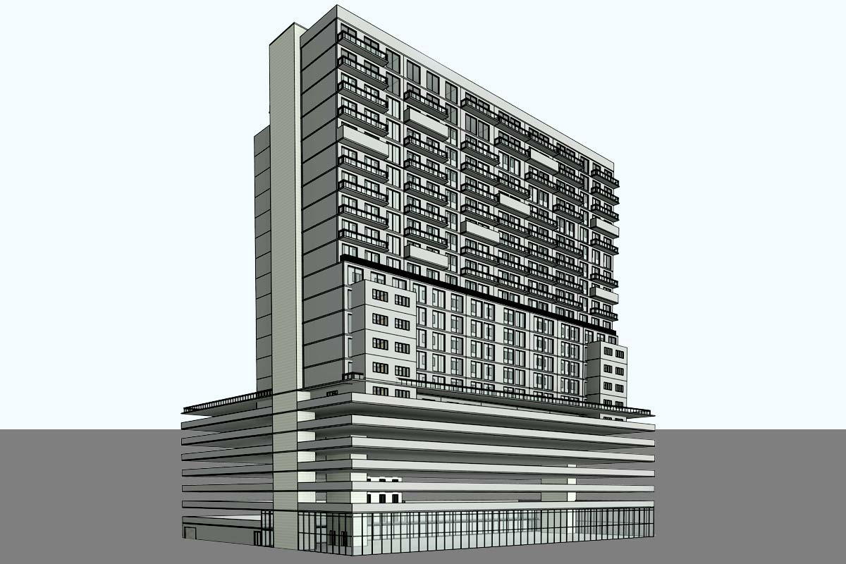 Park-Avenue-Complex-Architectural-Modeling-Services-by-United-BIM