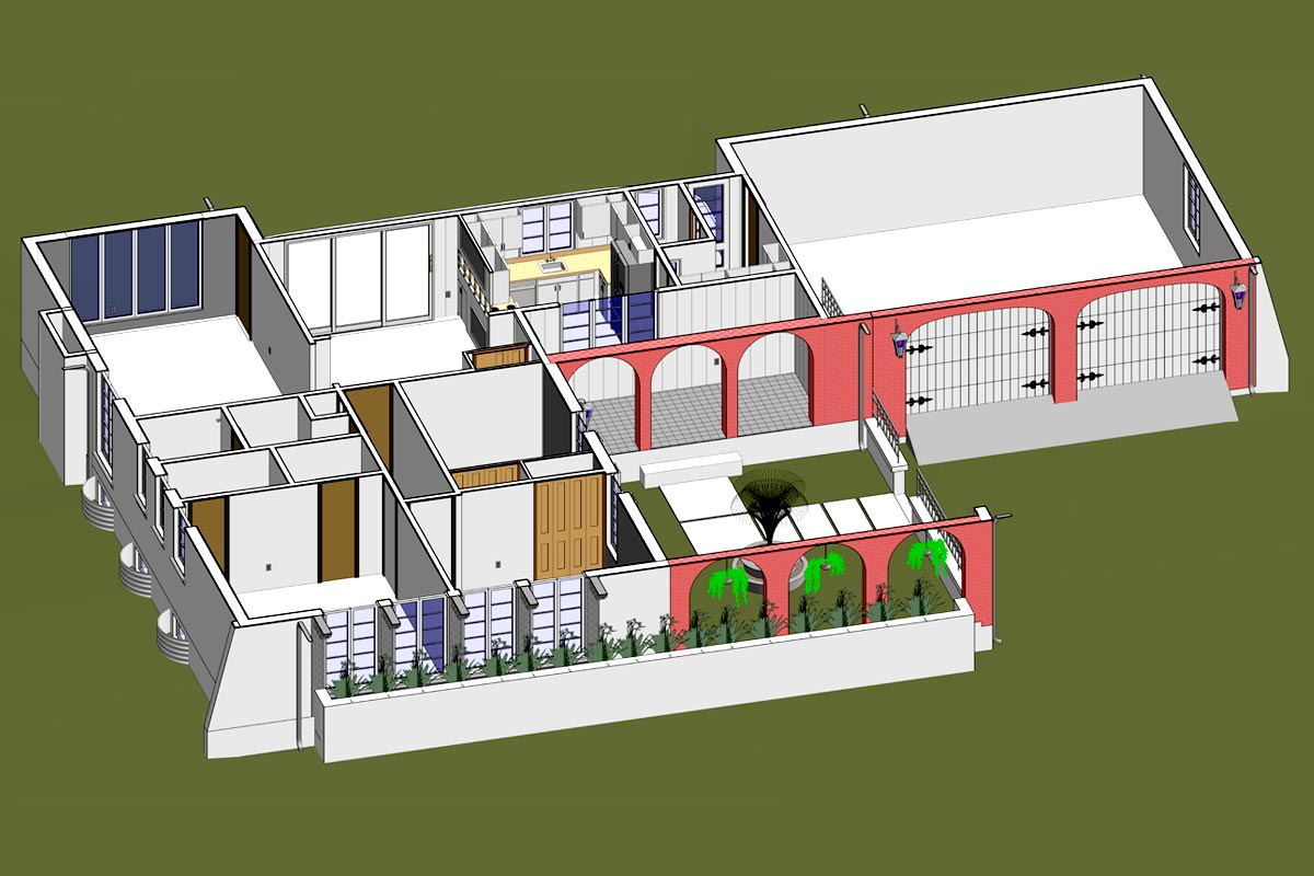 Private-Residence-Architectural-Modeling-Services-by-United-BIM.
