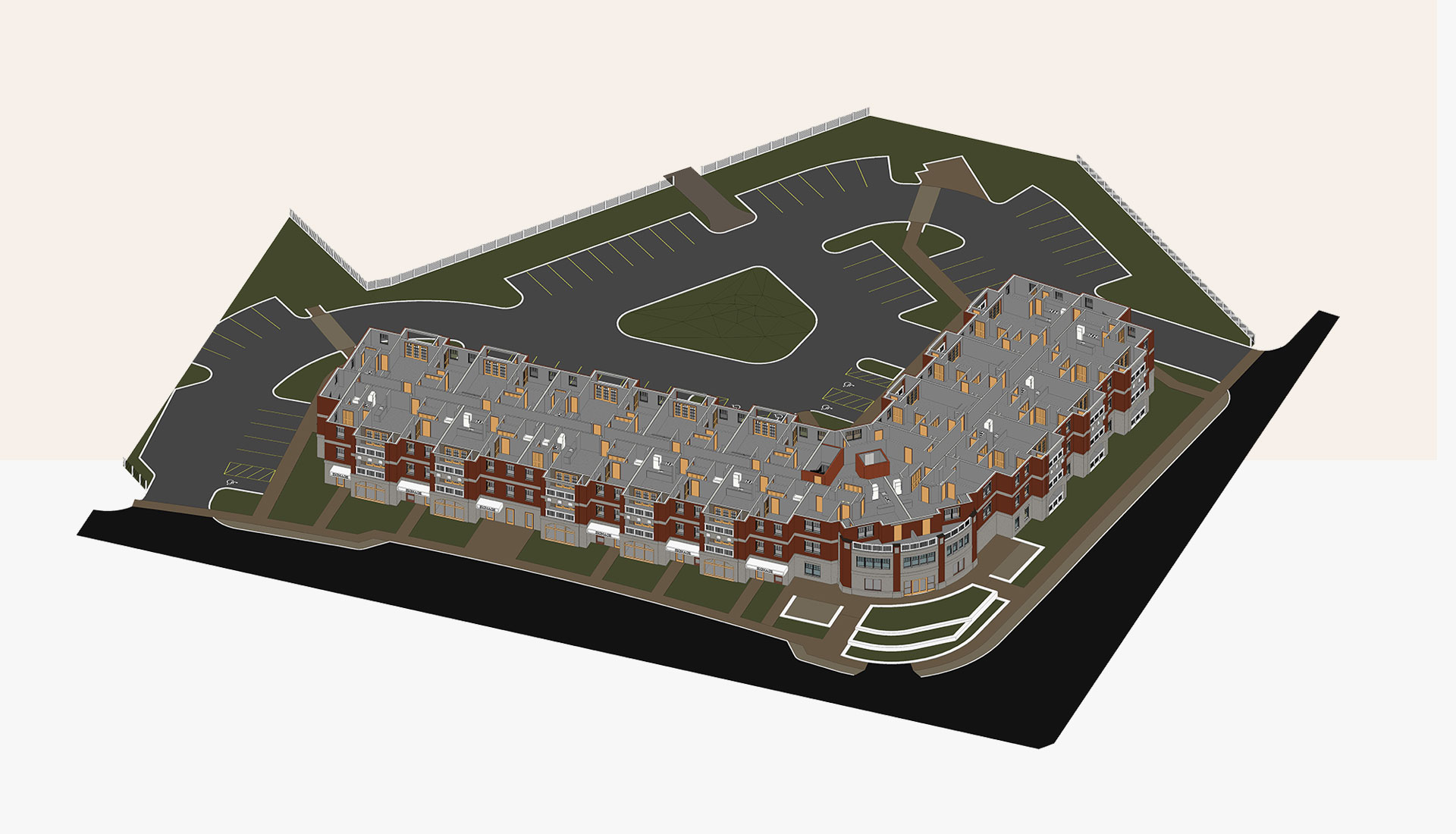 Sectional-View_Third-Floor_3D-BIM-Model_Residential-Project_Architectural-Revit-Modeling-by-United-BIM