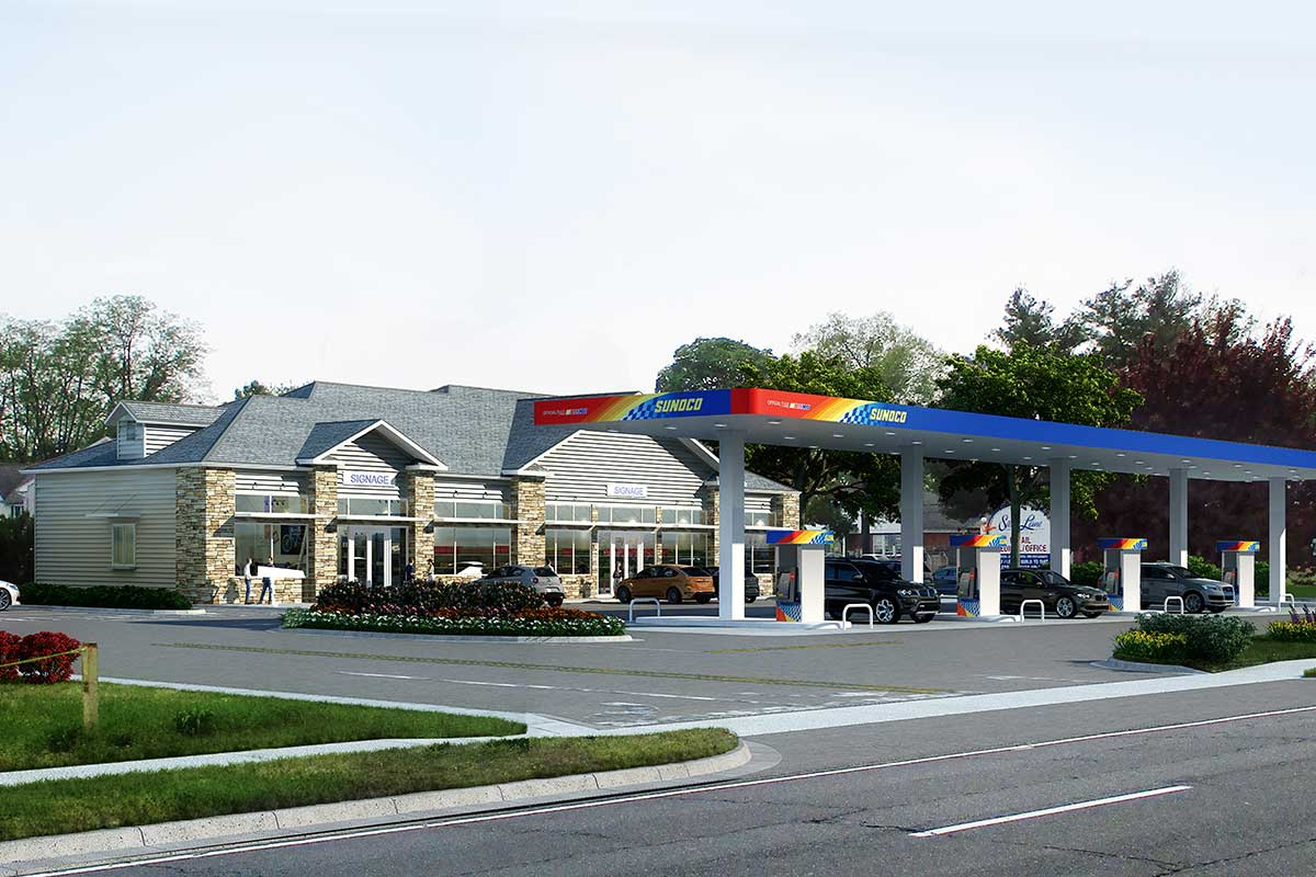 Silver-Lane-Gas-Station-3D-Rendering-Services-by-United-BIM