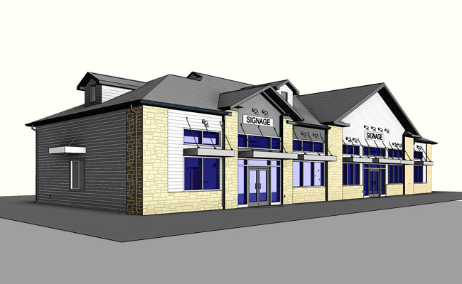 Silver-Lane-Gas-Station-Architectural-Modeling-Services-by-United-BIM