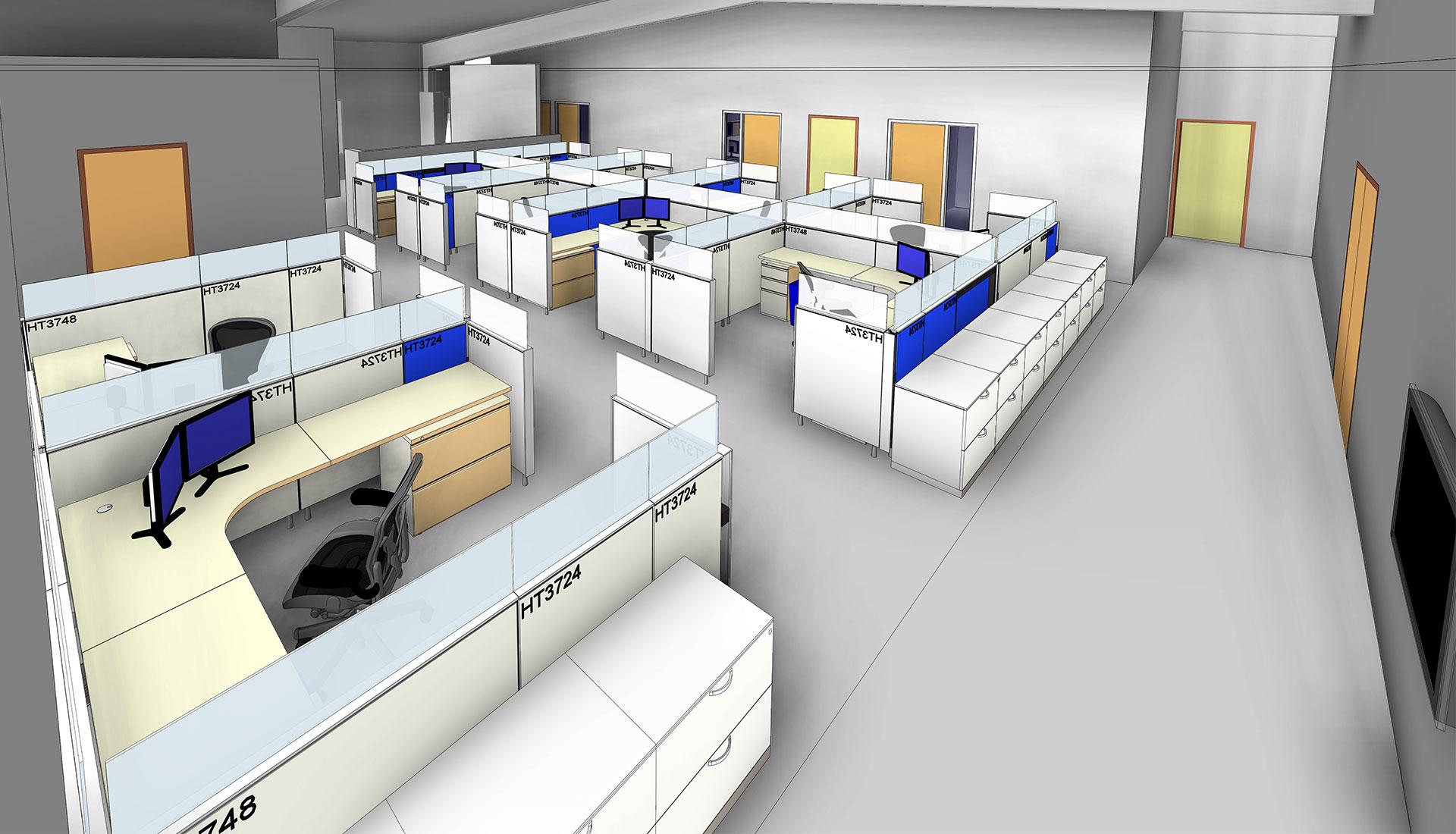 Sitting-Arrangement-3D-Revit_Architectural-Model_Industrial-Project_BIM-Modeling-by-United-BIM