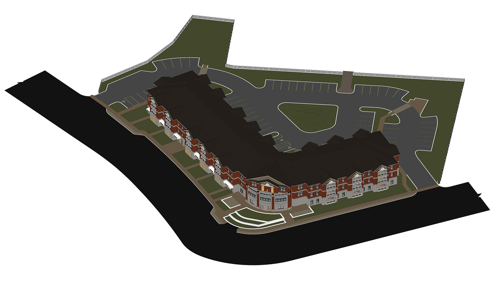 Top-View_3D-BIM-Model_Residential-Project_Architectural-Revit-Modeling-by-United-BIM