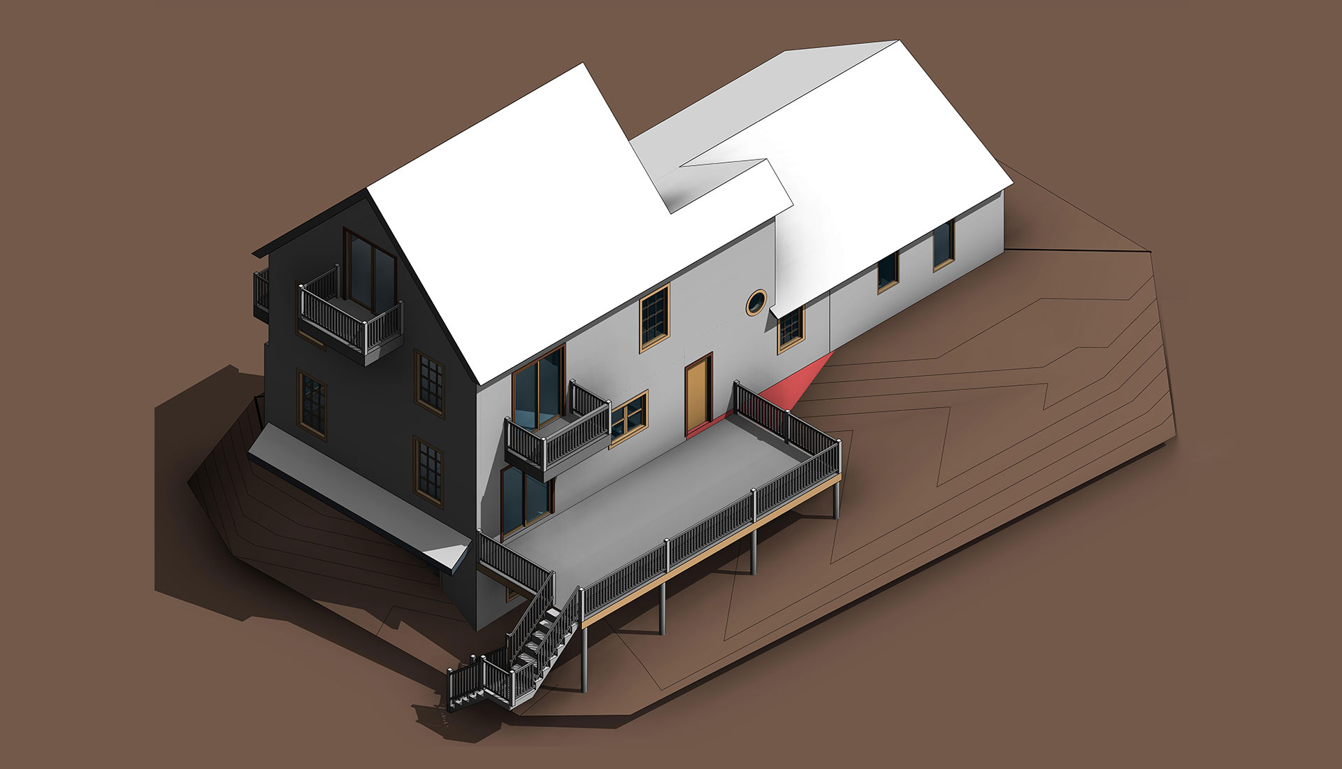 Top-View_Revit-Model-of-Home_Residential-Project-by-United-BIM