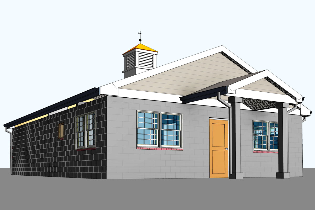 Windsor-Animal-Hospital-Architectural-Modeling-Services-by-United-BIM