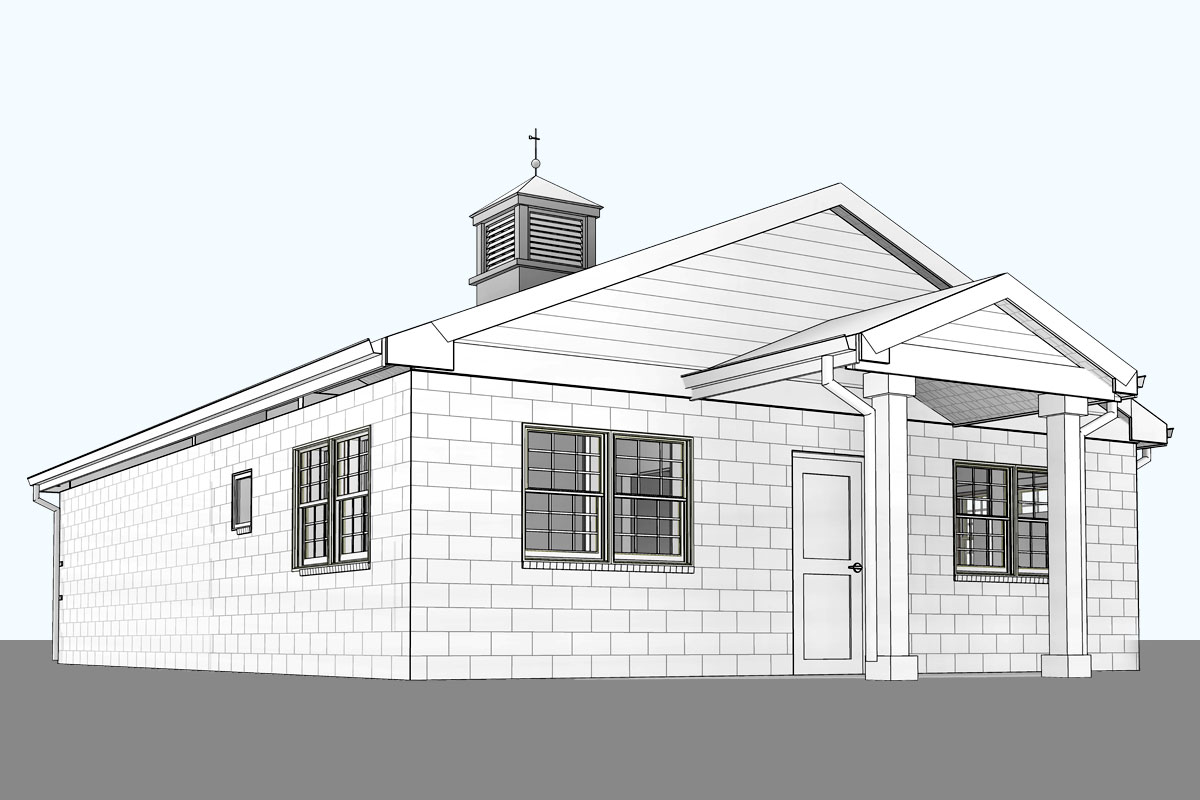 Windsor-Animal-Hospital-Architectural-Modeling-Services-by-United-BIM_