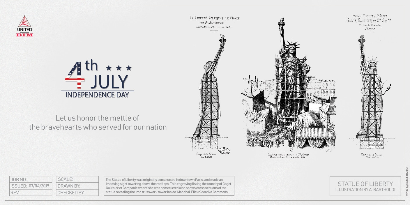4th of July 2019 | Graphic by United-BIM