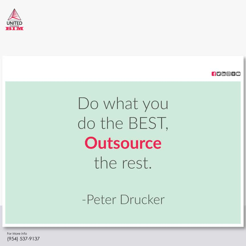 Do-what-you-do-the-best--outsource-the-rest--Peter-Drucker--BIM-architecture-quotes--United-BIM