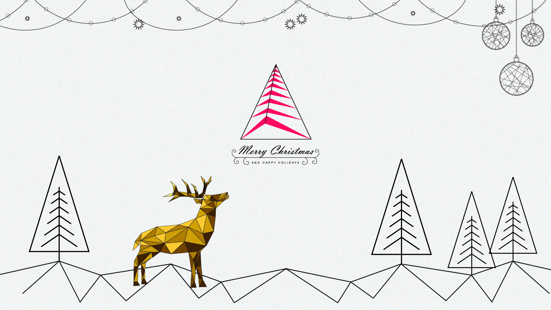 Christmas & New Years Wishes | Graphic by United-BIM