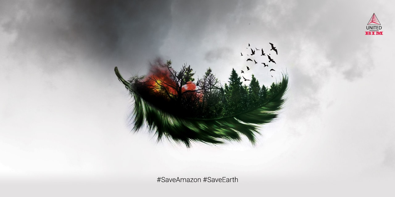 Save Amazon, Save Earth | Graphic by United-BIM