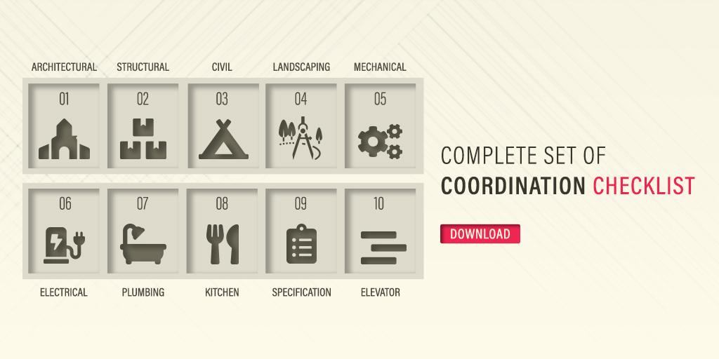 COMPLETE SET OF CONSTRUCTION DESIGN COORDINATION CHECKLIST_
