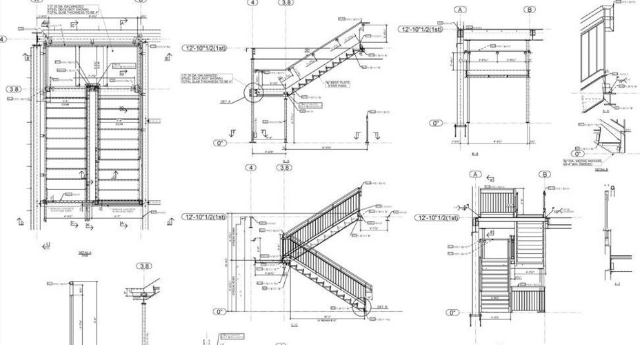 Example of Shop-drawings_Difference between Shop Drawings and As-built drawings_Article by United-BIM