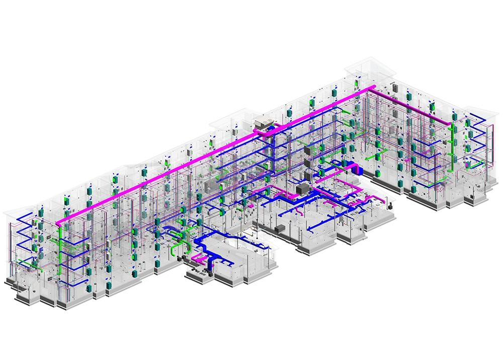 MEP BIM Model Created by MEP Sub-Contractor_Blog by United-BIM
