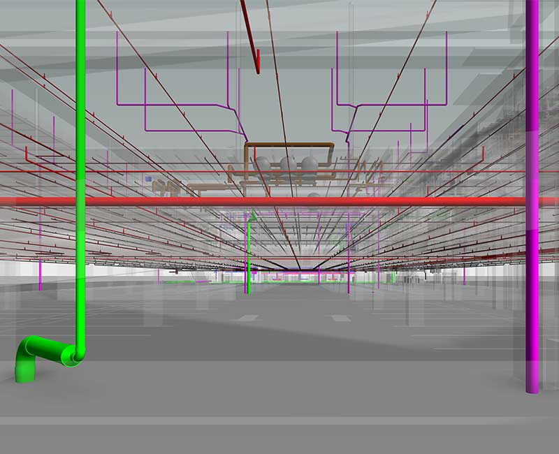 Fire Protection Modeling Services by-United-BIM