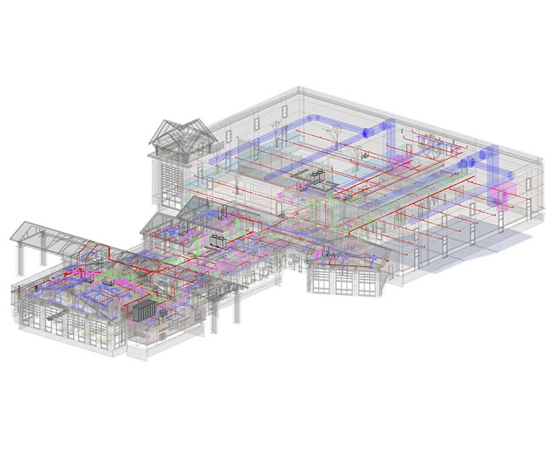 Fire Protection Modeling Services by United-BIM