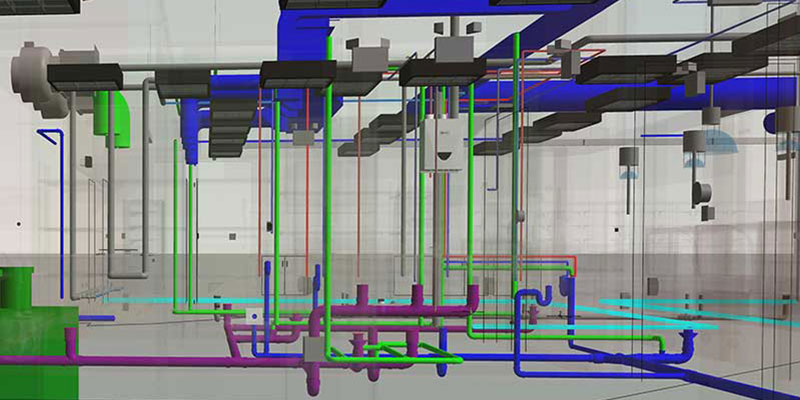 Plumbing Model by United-BIM