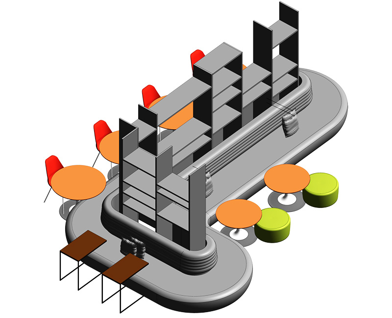 Revit Family for Furniture Manufacturers and Designers by United-BIM