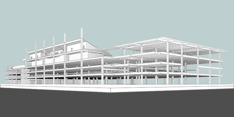 Structural Model by United-BIM