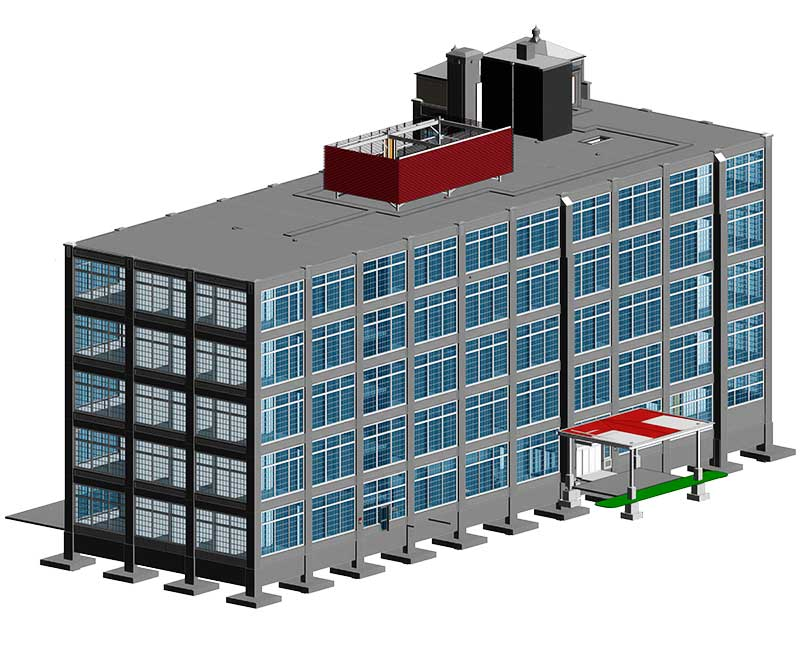 BIM Architectural Model by United-BIM