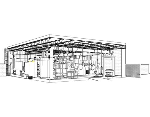 Mechanical Room BIM Model