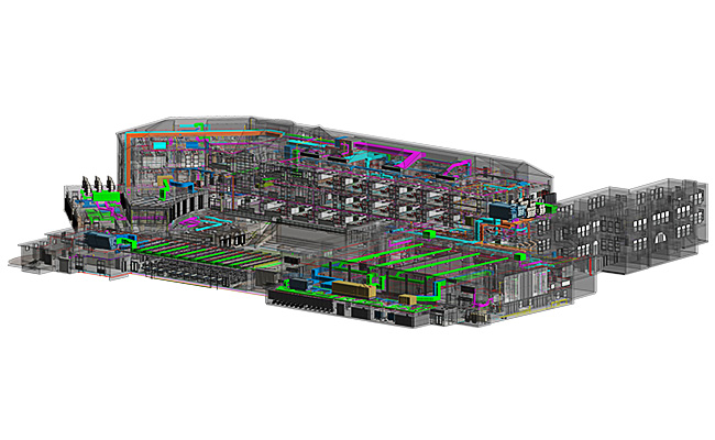 3D MEPFP Coordination Modeling Services by United BIM