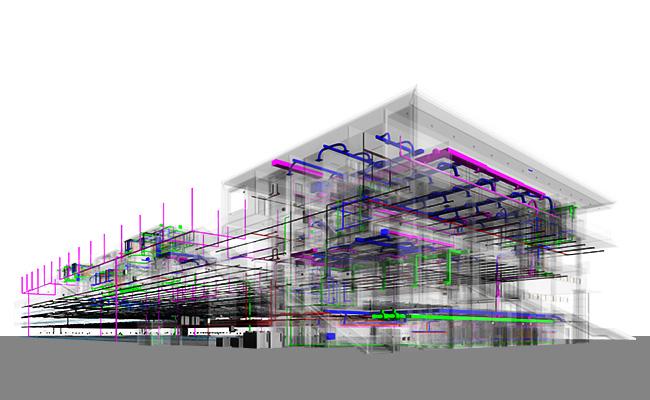 3D MEPFP Model-MEP-Modeling-Services-BIM-Services-by-United-BIM