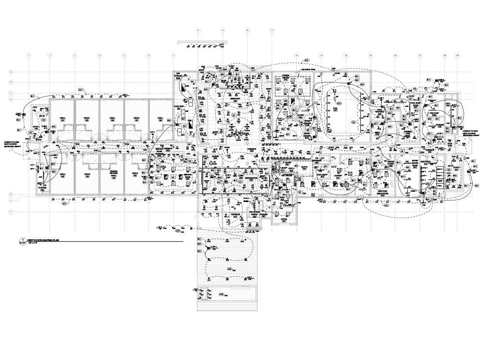 Electrical drawings by United-BIM