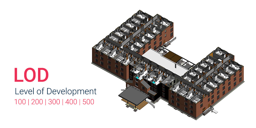 LOD-in-BIM-Level-of-Development-100-200-300-400-500