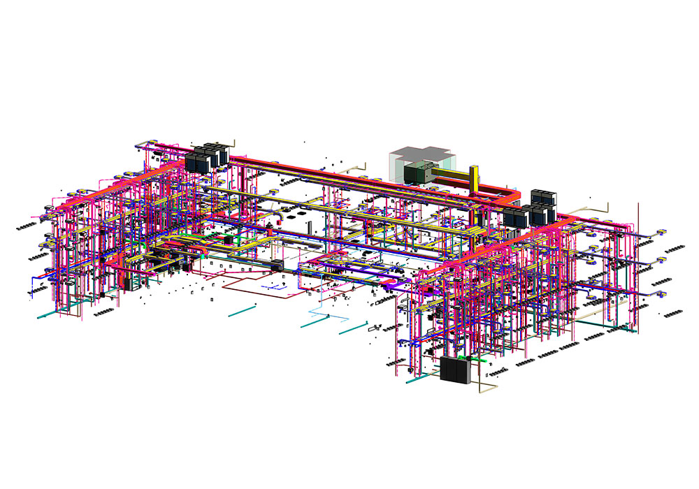 MEP Modeling and coordination services by United-BIM