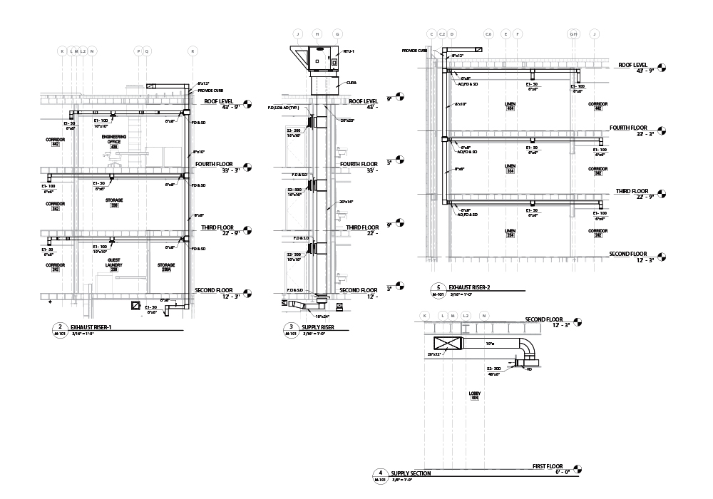 Mechanical Components Drawings