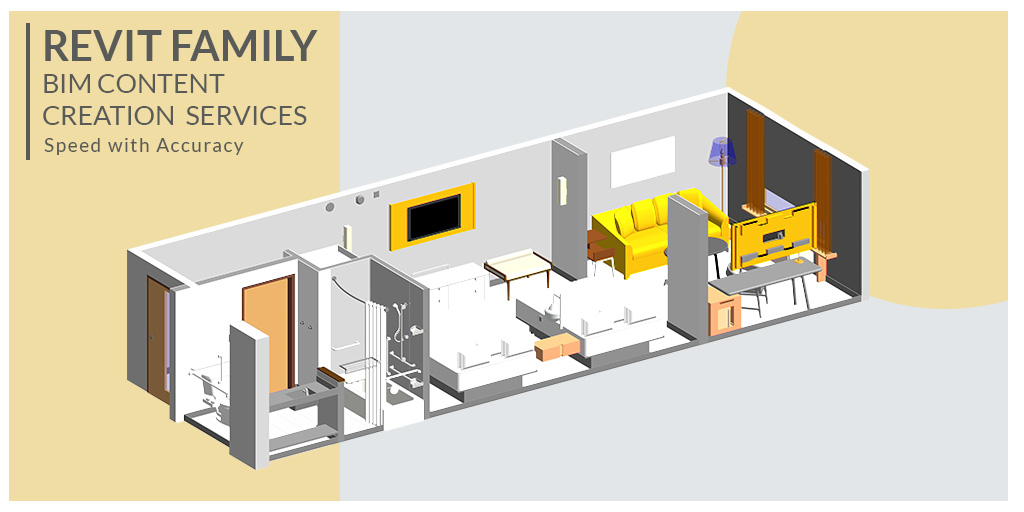 Revit Family & BIM Content Creation Services by United-BIM