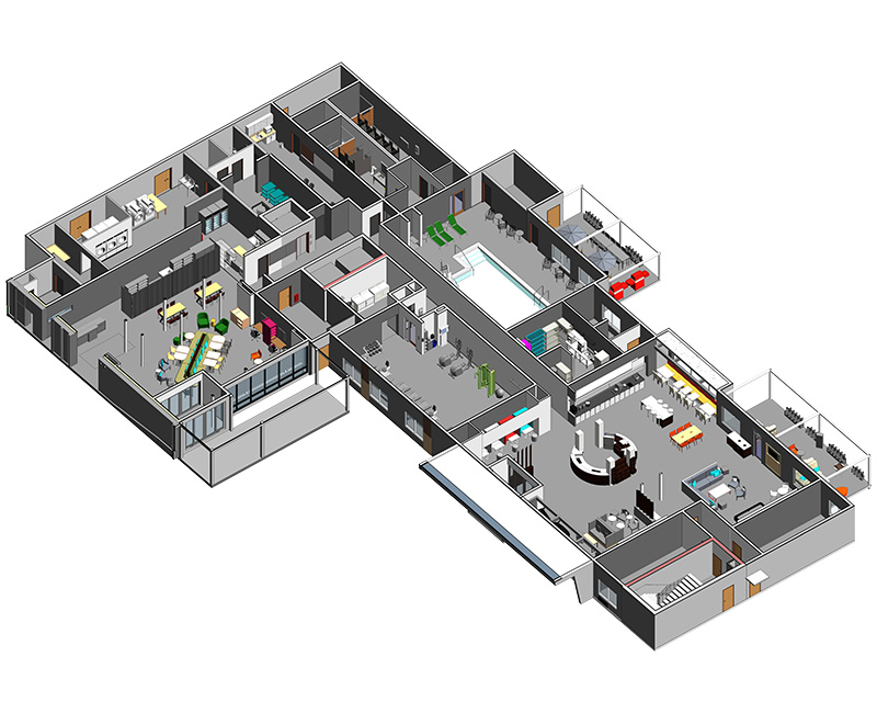 Revit Family Development for Furniture, Fixtures & Equipment by United-BIM