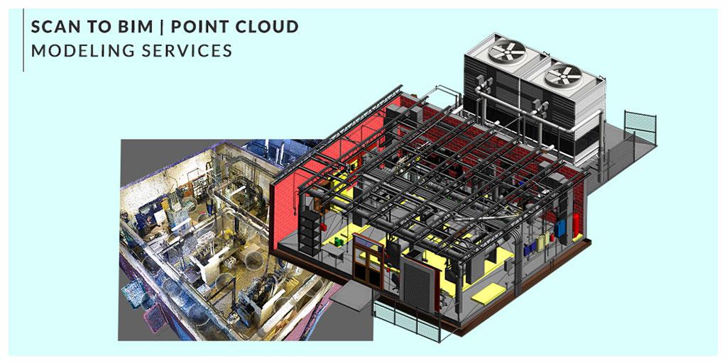 Scan to BIM & Point Cloud to BIM Services by United-BIM