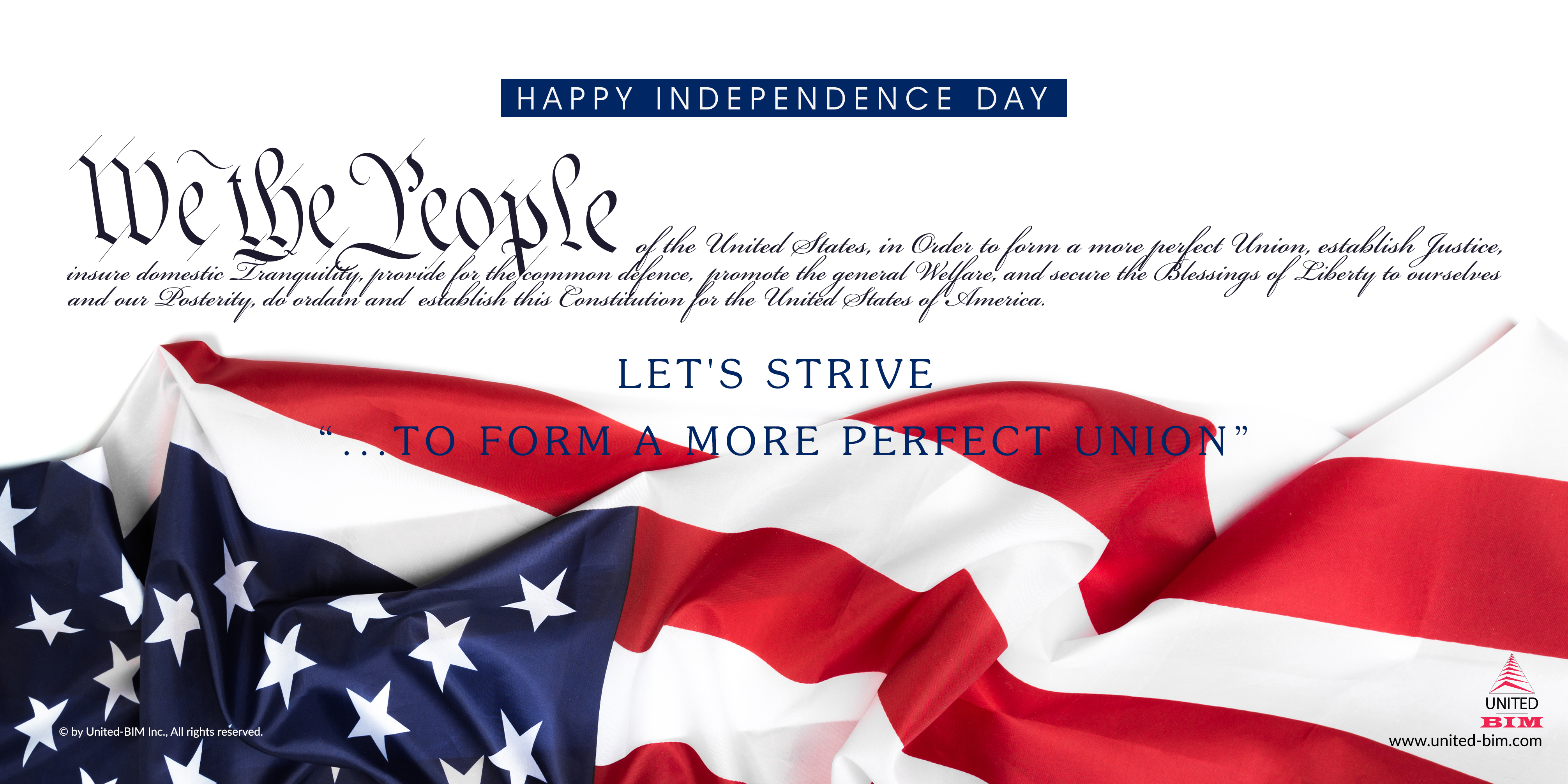 4th of July 2020 | Graphic by United-BIM