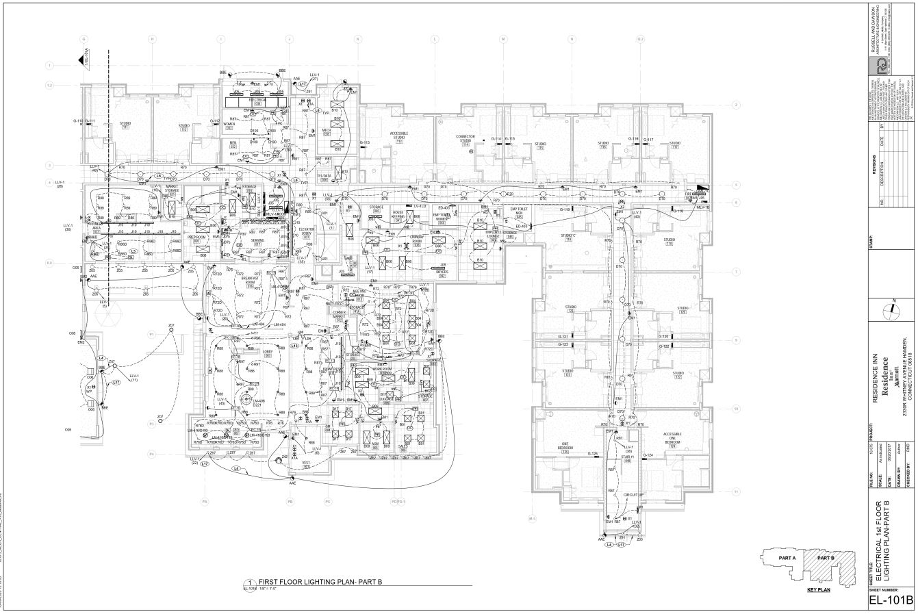 Electrical Floor Lighting Plan