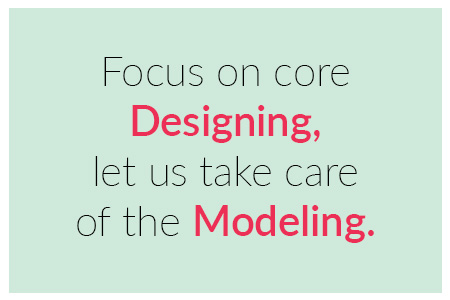 Focus on core designing let us take care of the modeling quote by United-BIM