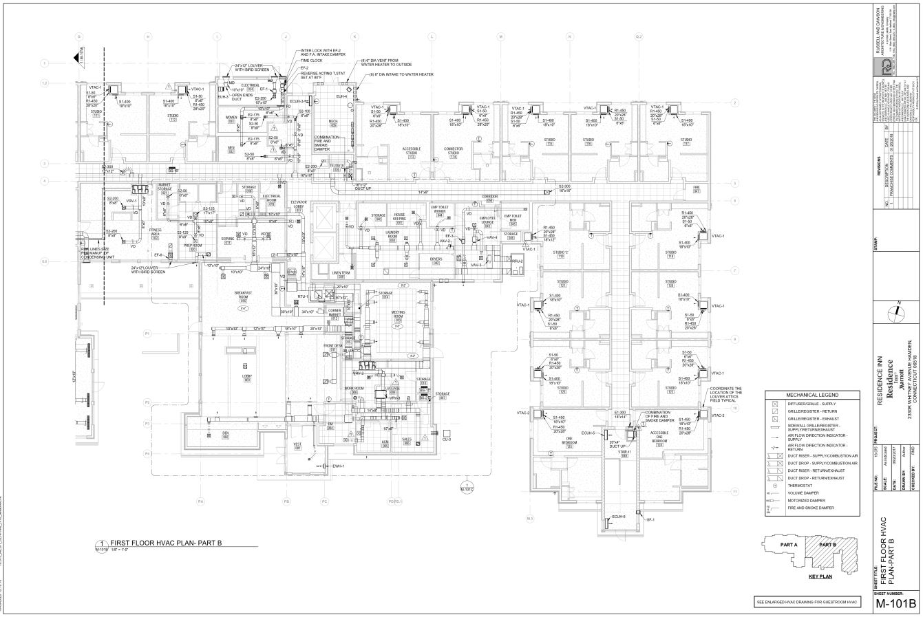 Mechanical HVAC Floor Plan