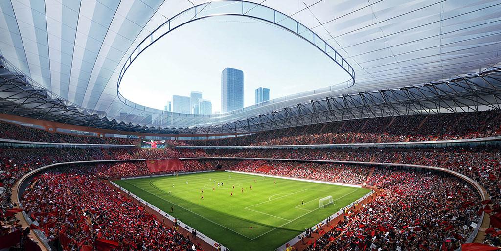 Stadium Architecture Design