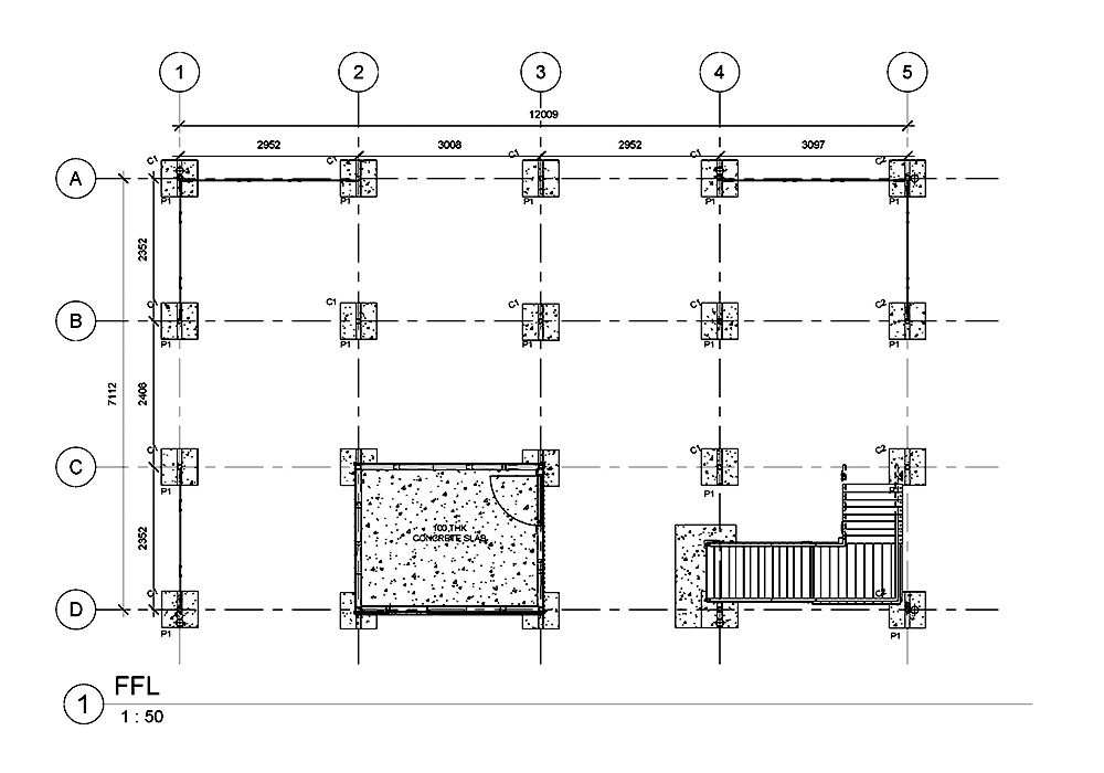 As-built Drawings for Multi-Residential Housing by United-BIM