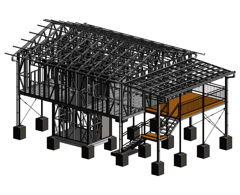 Structural BIM Modeling Project by United-BIM