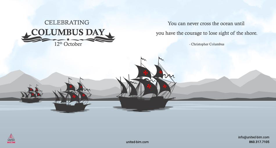 Columbus Day-2020 Graphic by United-BIM