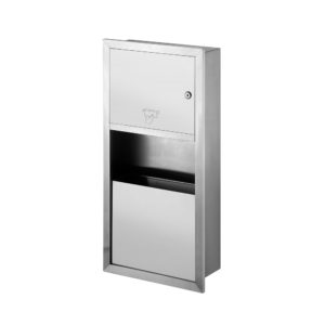 Paper Towel Dispenser_Water Receptacle Type 1