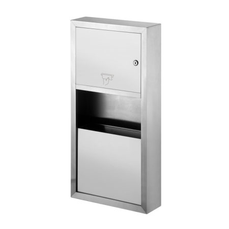 Paper Towel Dispenser_Water Receptacle Type 2
