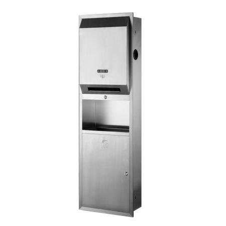 Paper Towel Dispenser_Water Receptacle Type 3