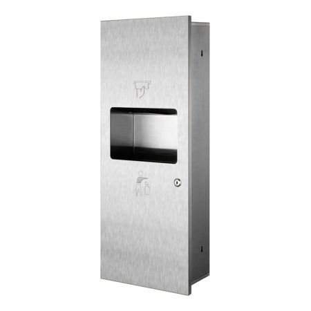 Paper Towel Dispenser_Water Receptacle Type 5